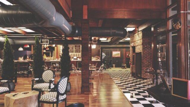 オリエンタルラウンジ分の内観をしたカフェ